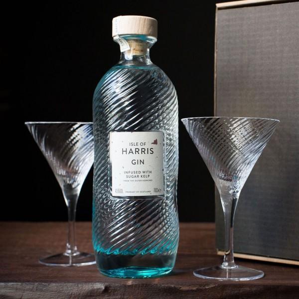 Isle of Harris Martini Serve Geschenk Box 0,7l 45 % Vol